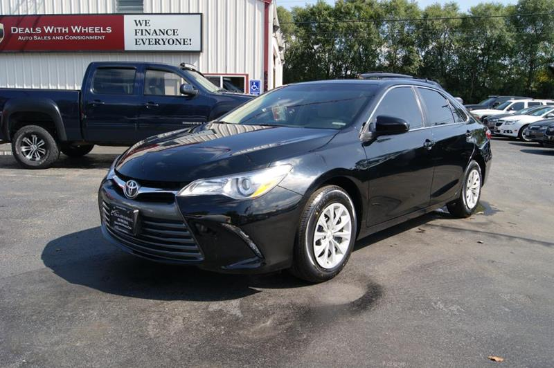 2015 Toyota Camry for sale at Dealswithwheels in Inner Grove Heights MN