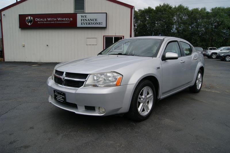 2010 Dodge Avenger for sale at Dealswithwheels in Inner Grove Heights MN