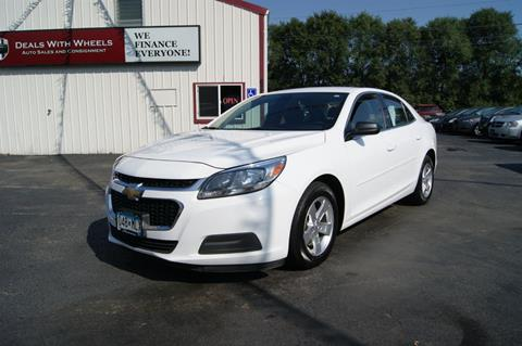 2014 Chevrolet Malibu for sale at Dealswithwheels in Inver Grove Heights MN
