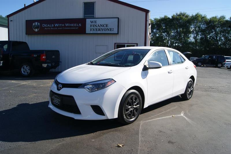2014 Toyota Corolla for sale at Dealswithwheels in Inver Grove Heights MN