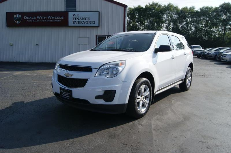 2011 Chevrolet Equinox for sale at Dealswithwheels in Inver Grove Heights MN