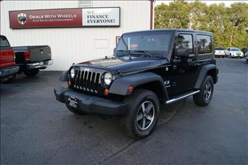 2007 Jeep Wrangler for sale at Dealswithwheels in Inner Grove Heights MN