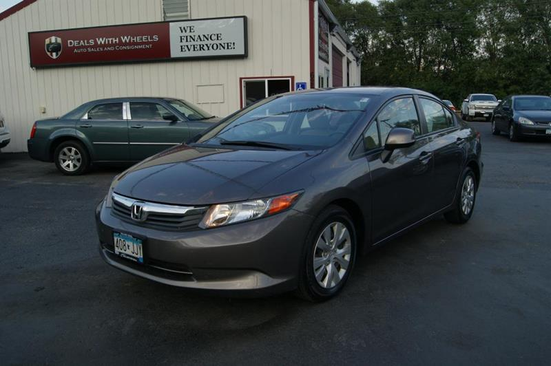 2012 Honda Civic for sale at Dealswithwheels in Inver Grove Heights MN