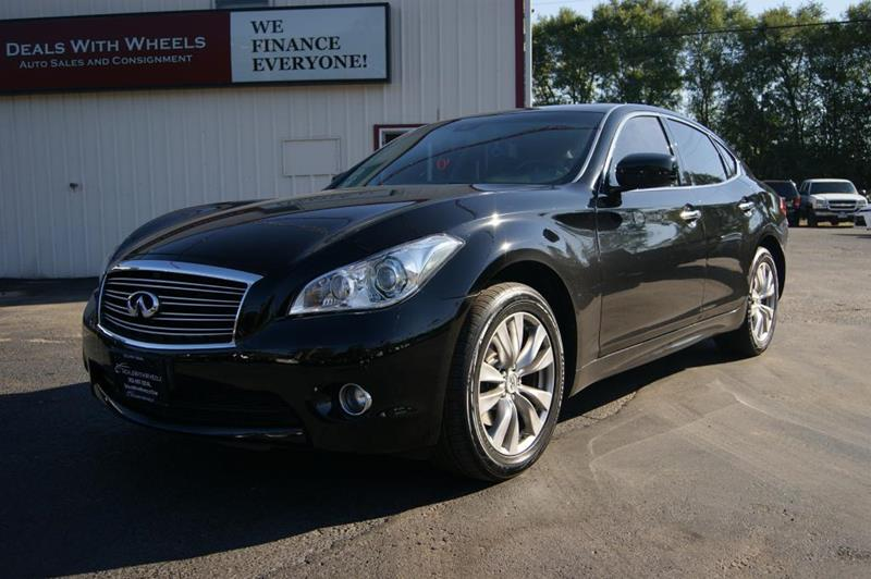 2013 Infiniti M37 for sale at Dealswithwheels in Inver Grove Heights MN