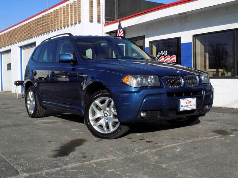 2006 Bmw X3 3 0i Awd 4dr Suv In Appleton Wi Budget Auto Sales