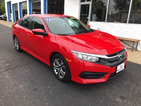 2016 Honda Civic for sale in Appleton, WI