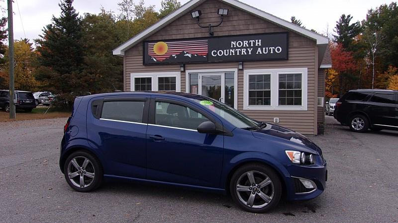 2014 Chevrolet Sonic Rs Manual 4dr Hatchback In Presque Isle Me