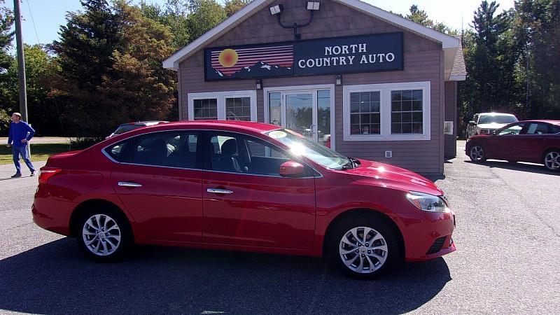 North Country Auto >> 2018 Nissan Sentra In Presque Isle Me North Country Auto