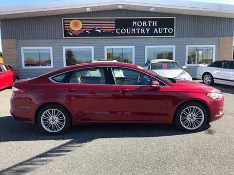 2016 Ford Fusion for sale in Presque Isle, ME