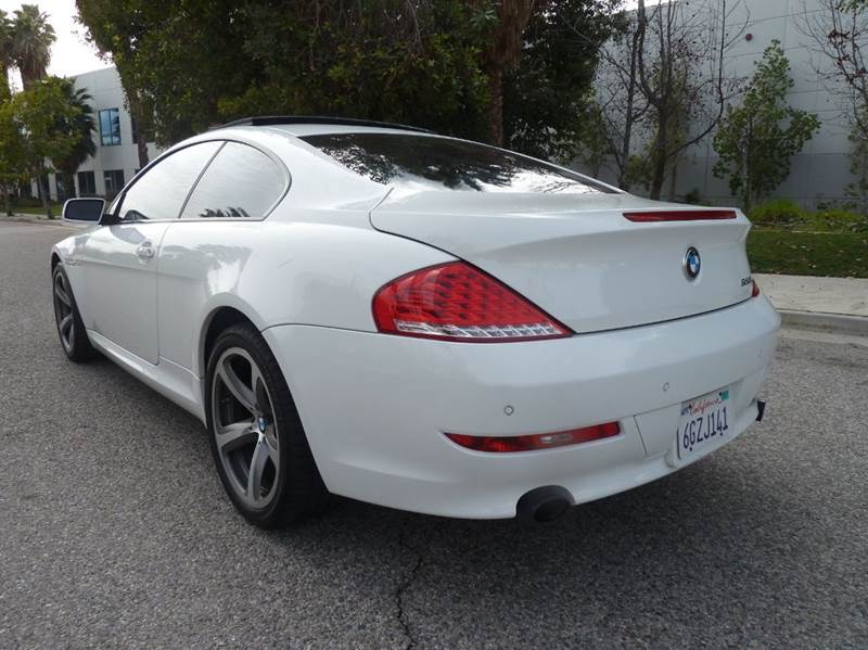 Bmw Series I Dr Coupe In Van Nuys CA Trade In Auto Sales - 2009 bmw 645