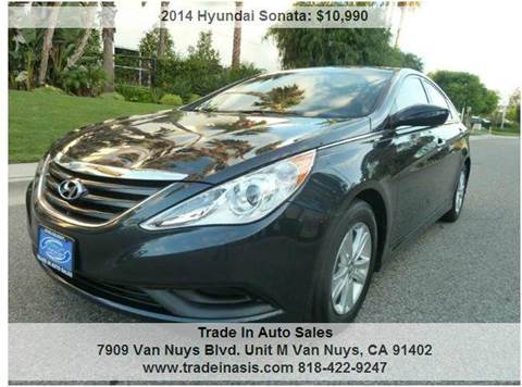 2014 Hyundai Sonata for sale at Trade In Auto Sales in Van Nuys CA