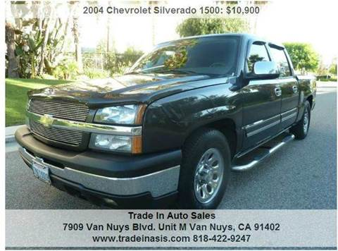 2004 Chevrolet Silverado 1500 for sale at Trade In Auto Sales in Van Nuys CA
