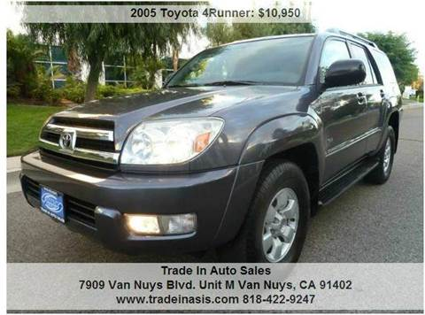 2005 Toyota 4Runner for sale at Trade In Auto Sales in Van Nuys CA