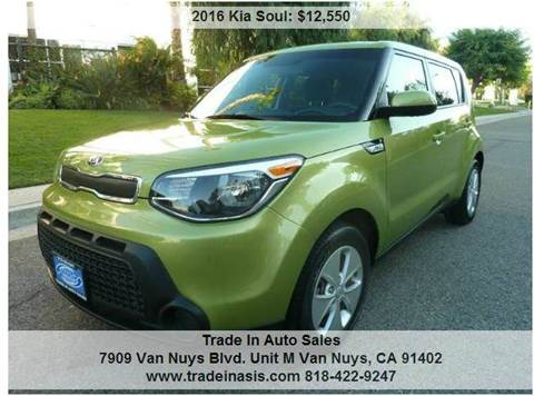 2016 Kia Soul for sale at Trade In Auto Sales in Van Nuys CA