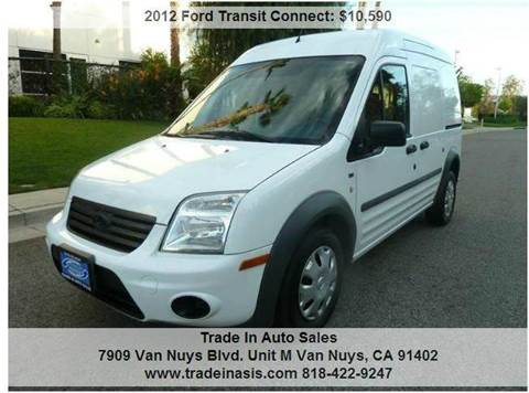 2012 Ford Transit Connect for sale at Trade In Auto Sales in Van Nuys CA