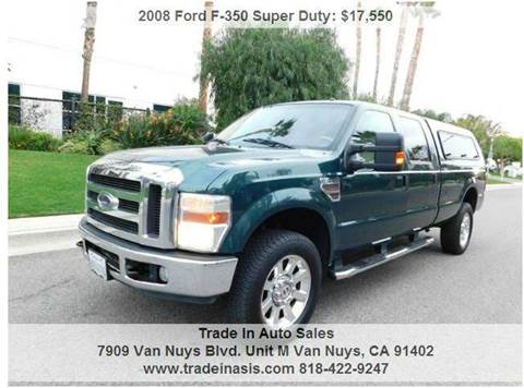 2008 Ford F-350 Super Duty for sale at Trade In Auto Sales in Van Nuys CA