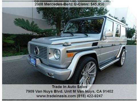 2008 Mercedes-Benz G-Class for sale at Trade In Auto Sales in Van Nuys CA