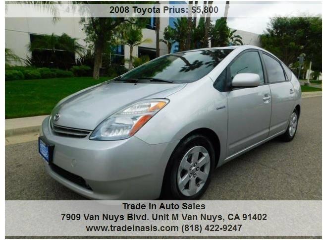 2008 Toyota Prius Standard 4dr Hatchback   Van Nuys CA
