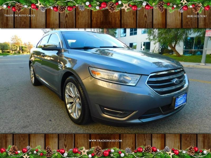 Ford Taurus Limited Dr Sedan Van Nuys Ca