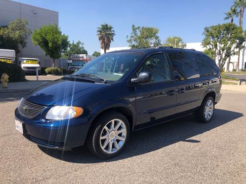 2002 Chrysler Town and Country for sale in Van Nuys, CA