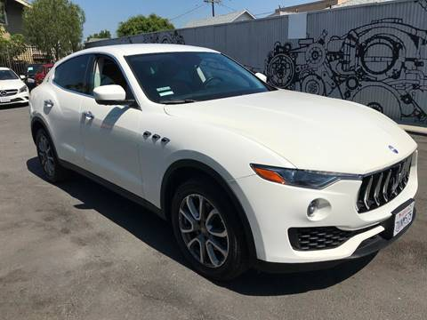 2017 Maserati Levante for sale in Los Angeles, CA