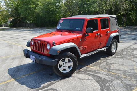 2011 Jeep Wrangler Unlimited for sale in Eastlake, OH