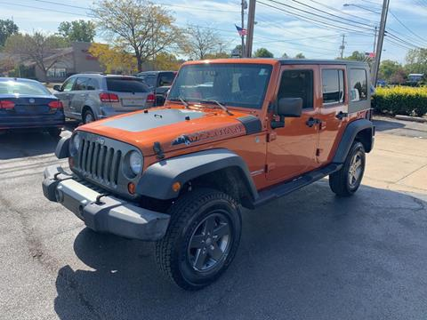 2010 Jeep Wrangler Unlimited for sale in Eastlake, OH