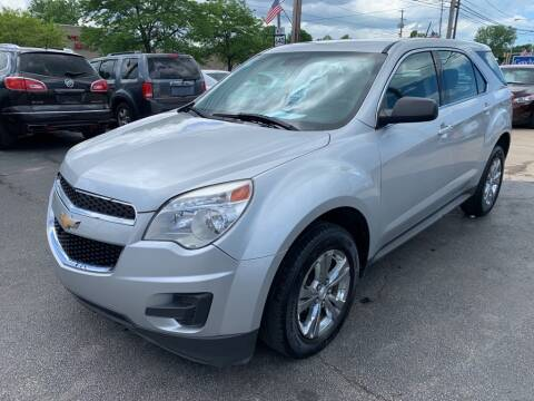 2013 Chevrolet Equinox for sale at TKP Auto Sales in Eastlake OH