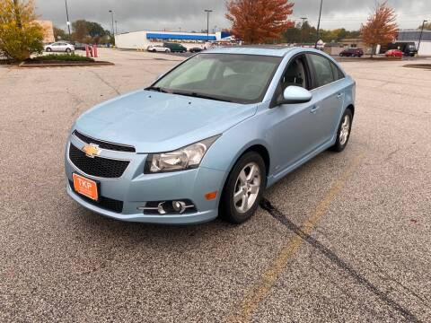 2012 Chevrolet Cruze for sale at TKP Auto Sales in Eastlake OH