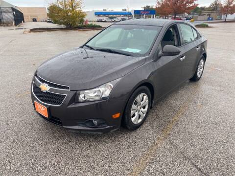 2014 Chevrolet Cruze for sale at TKP Auto Sales in Eastlake OH