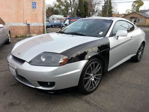 2005 Hyundai Tiburon for sale at Auto King in Roseville CA