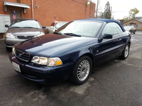 2004 Volvo C70 for sale at Auto King in Roseville CA