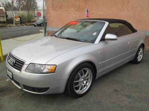 2004 Audi A4 for sale at Auto King in Roseville CA
