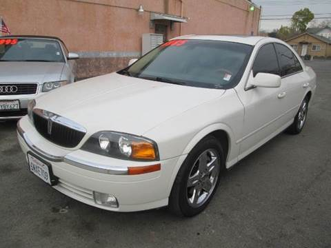 2002 Lincoln LS for sale at Auto King in Roseville CA