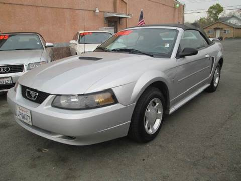 2001 Ford Mustang for sale at Auto King in Roseville CA