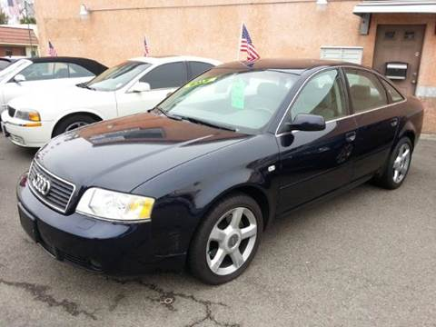 2003 Audi A6 for sale at Auto King in Roseville CA