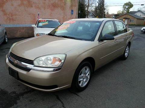 2005 Chevrolet Malibu for sale at Auto King in Roseville CA