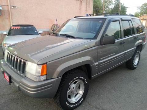 1998 Jeep Grand Cherokee for sale at Auto King in Roseville CA