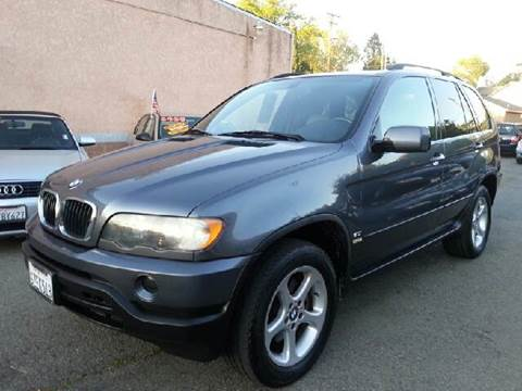 2002 BMW X5 for sale at Auto King in Roseville CA
