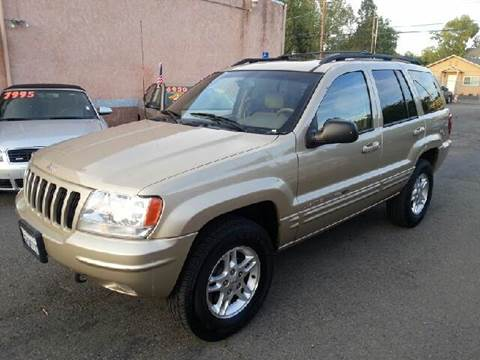 2000 Jeep Grand Cherokee for sale at Auto King in Roseville CA