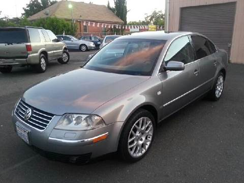 2003 Volkswagen Passat for sale at Auto King in Roseville CA