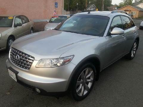 2003 Infiniti FX35 for sale at Auto King in Roseville CA