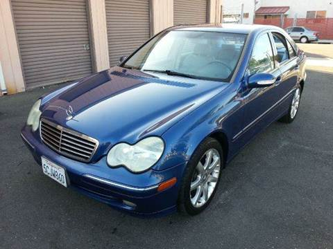2003 Mercedes-Benz C-Class for sale at Auto King in Roseville CA