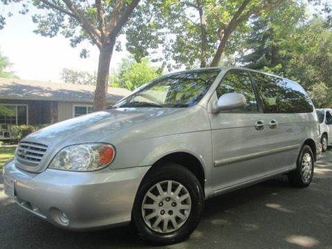 2003 Kia Sedona for sale at Auto King in Roseville CA