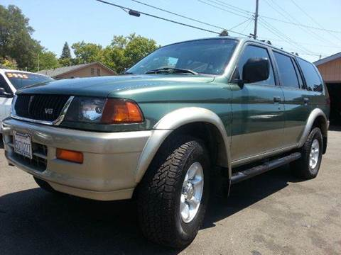 1998 Mitsubishi Montero Sport for sale at Auto King in Roseville CA
