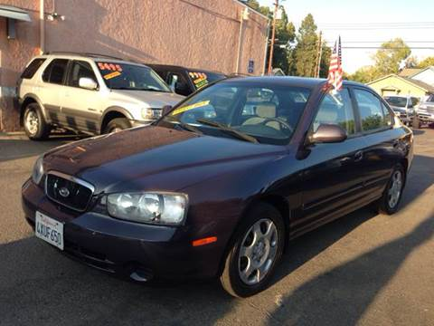 2002 Hyundai Elantra for sale at Auto King in Roseville CA