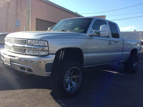 2000 Chevrolet Silverado 1500 for sale at Auto King in Roseville CA