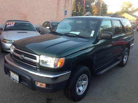 1999 Toyota 4Runner for sale at Auto King in Roseville CA