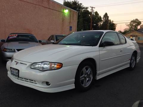 2003 Chevrolet Monte Carlo for sale at Auto King in Roseville CA