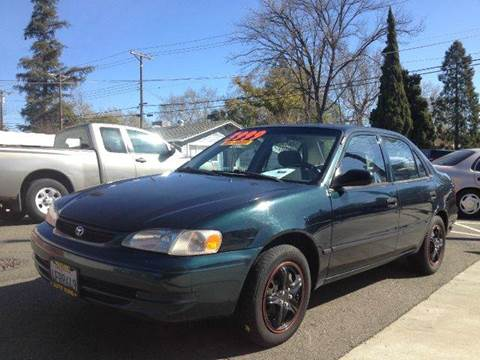 1999 Toyota Corolla for sale at Auto King in Roseville CA